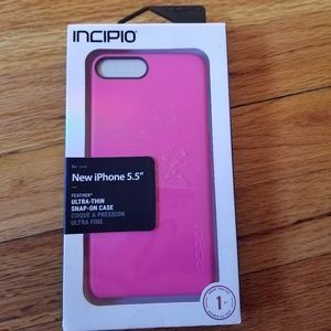 """Pink iPhone 5.5"""" Case"""